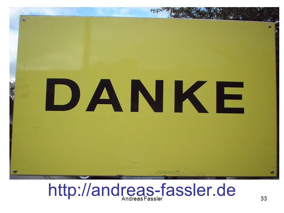 Andreas Fassler33 http://andreas-fassler.de