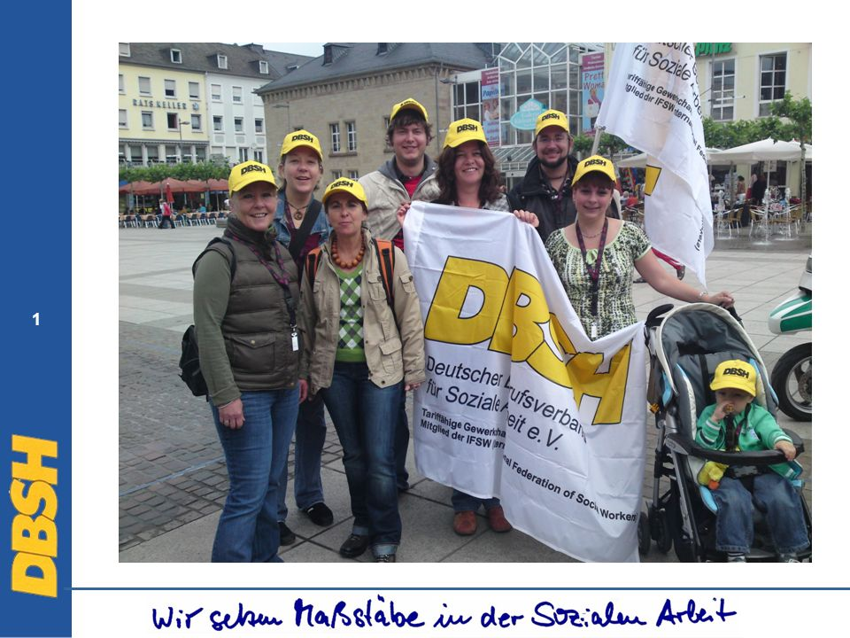 42 Der DBSH – Auswirkungen auf die Praxis In Zusammenarbeit mit der Hochschule für Technik und Wissenschaft des Saarlandes (HTW), Fakultät für Sozialwissenschaften, veranstaltete der Deutsche Berufsverband für Soziale Arbeit e.V.