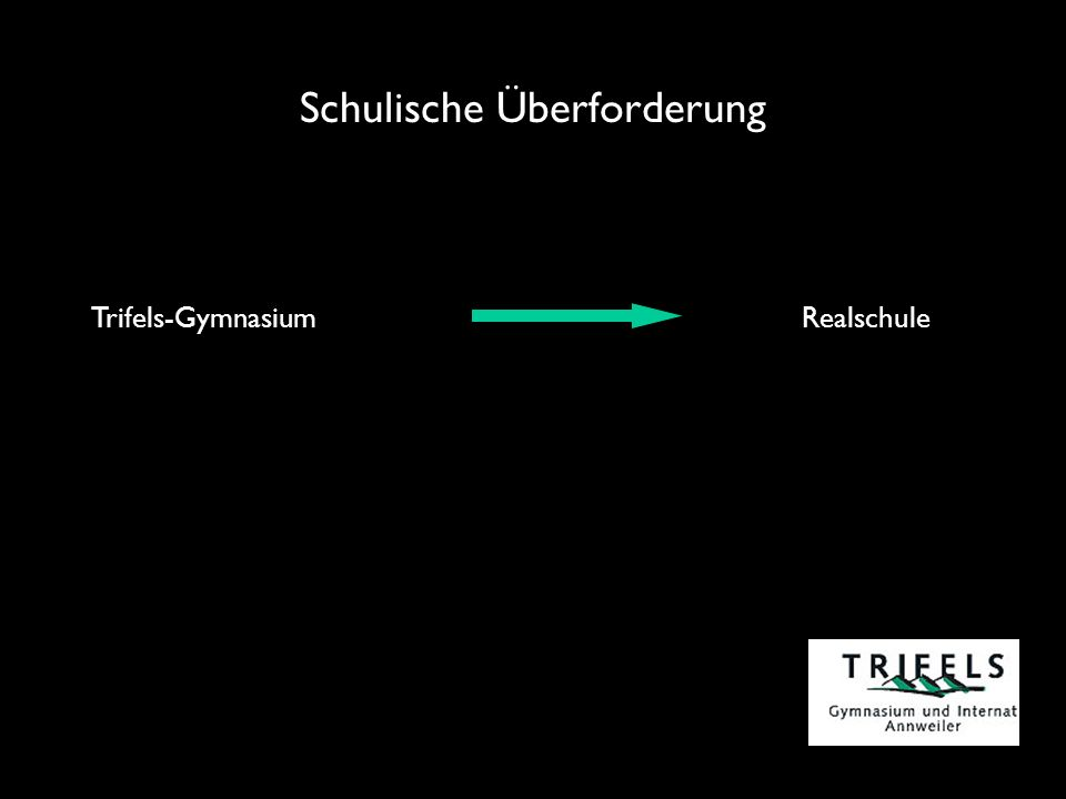 Schulische Überforderung Trifels-Gymnasium Realschule