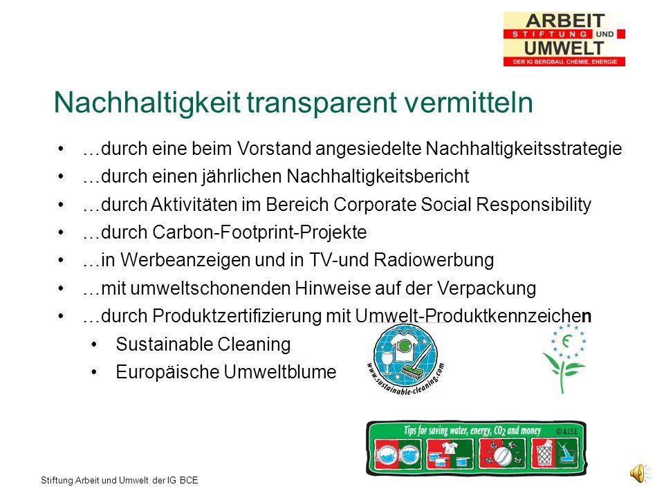 Stiftung Arbeit und Umwelt der IG BCE EU-Label zur Kennzeichnung von Haushaltsgeräten eingeführt in Deutschland seit 1998 Energieklassen A – G (mittlerweile A+ und A++) farbliche Kennzeichnung grün – rot Ab 1.