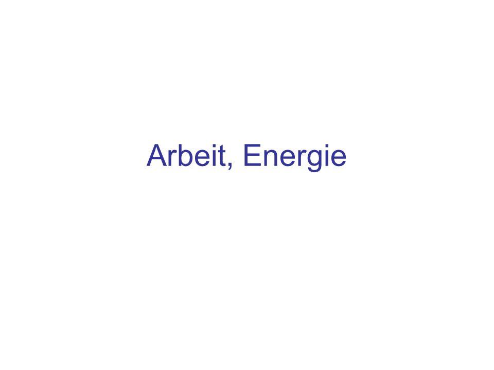 Arbeit, Energie
