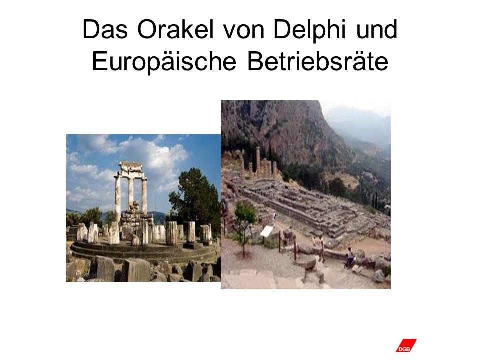 Das Orakel von Delphi und Europäische Betriebsräte