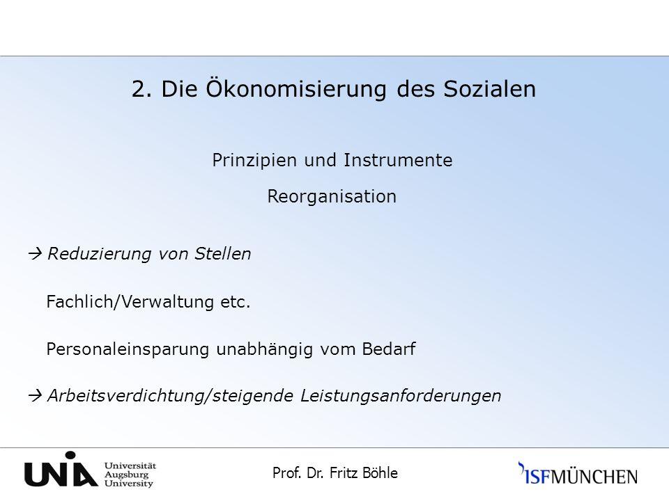Prof.Dr. Fritz Böhle Universität Augsburg 2.