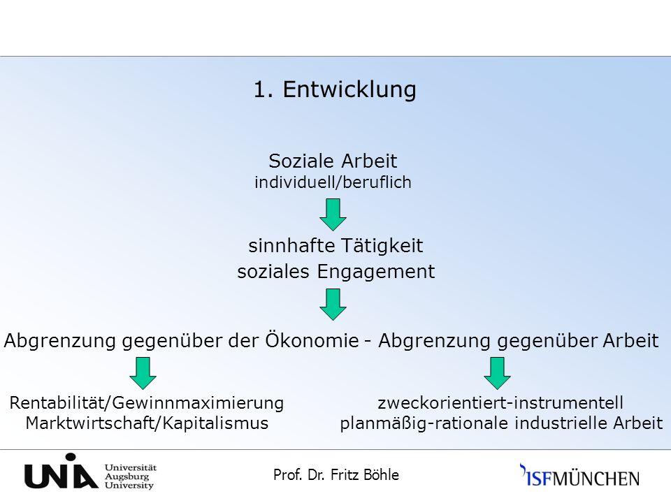 Prof.Dr. Fritz Böhle Universität Augsburg 1.