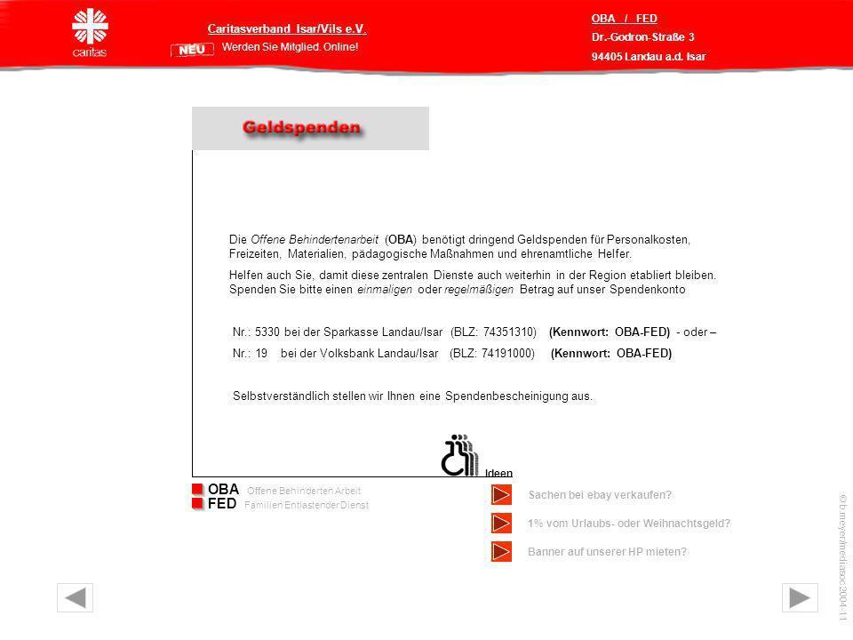 Caritasverband Isar/Vils e.V.Werden Sie Mitglied.