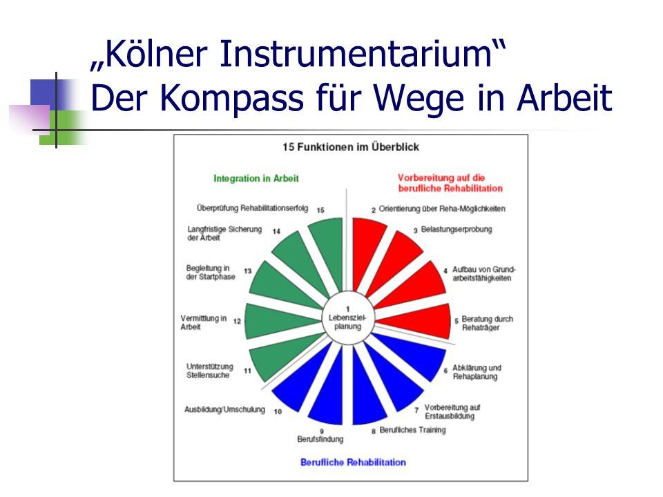 Gabriele Rein Kölner Instrumentarium Der Kompass für Wege in Arbeit