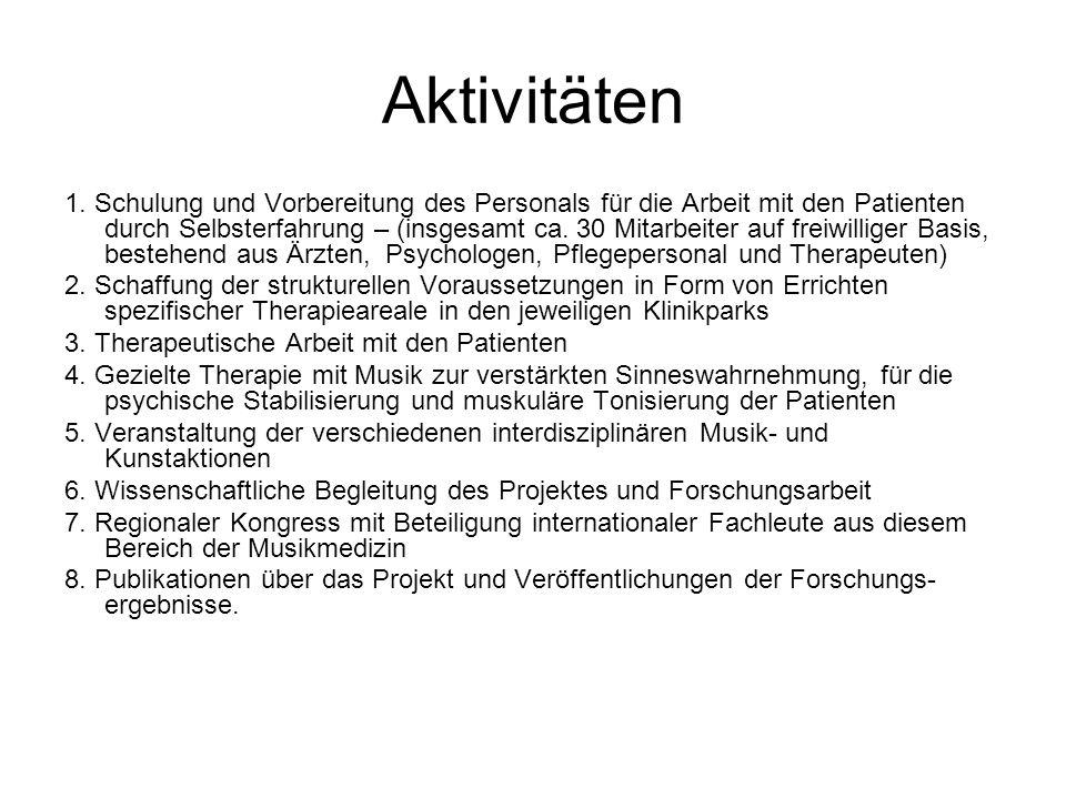 Aktivitäten 1.