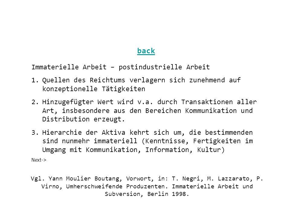 Vgl. Yann Moulier Boutang, Vorwort, in: T. Negri, M.