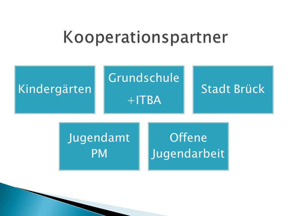 Kindergärten Grundschule +ITBA Stadt Brück Jugendamt PM Offene Jugendarbeit