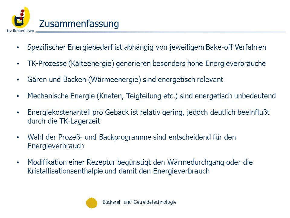 Bäckerei- und Getreidetechnologie Prof.K.
