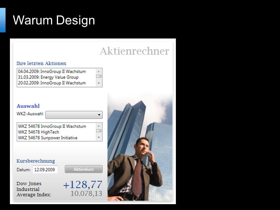 Warum Design