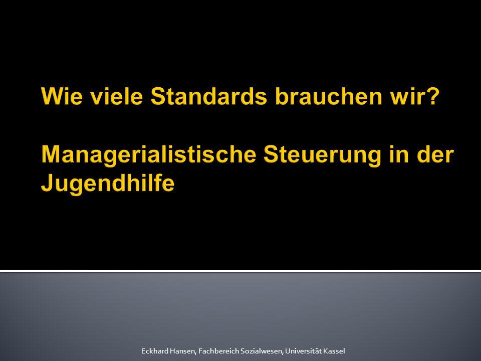 Eckhard Hansen, Fachbereich Sozialwesen, Universität Kassel