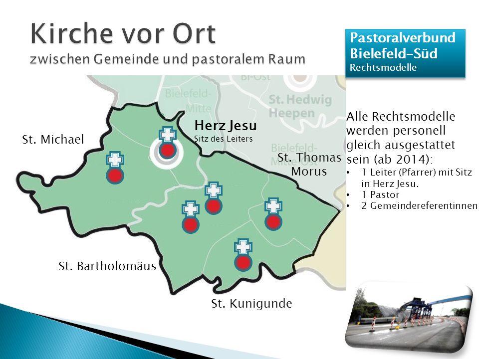 Pastoralverbund Bielefeld-Süd Rechtsmodelle Pastoralverbund Bielefeld-Süd Rechtsmodelle St.