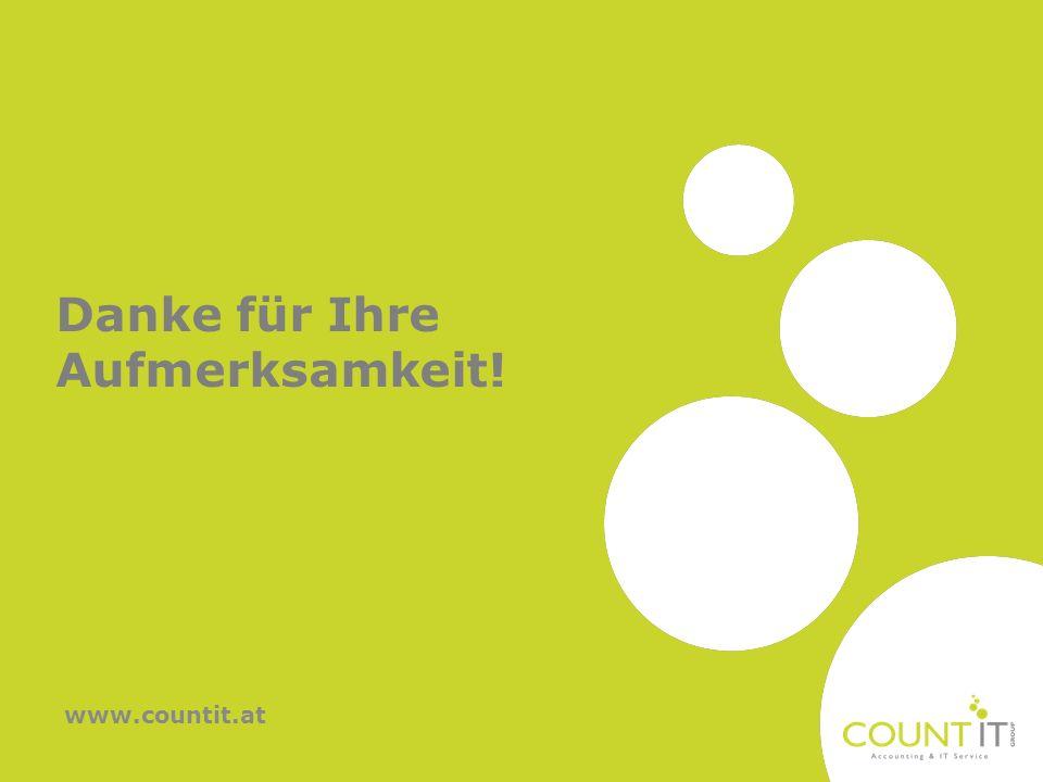 Danke für Ihre Aufmerksamkeit! www.countit.at