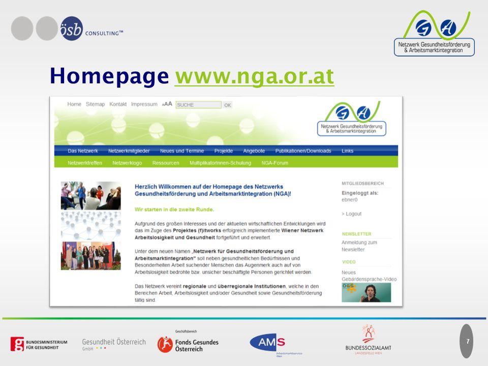 7 Homepage www.nga.or.at