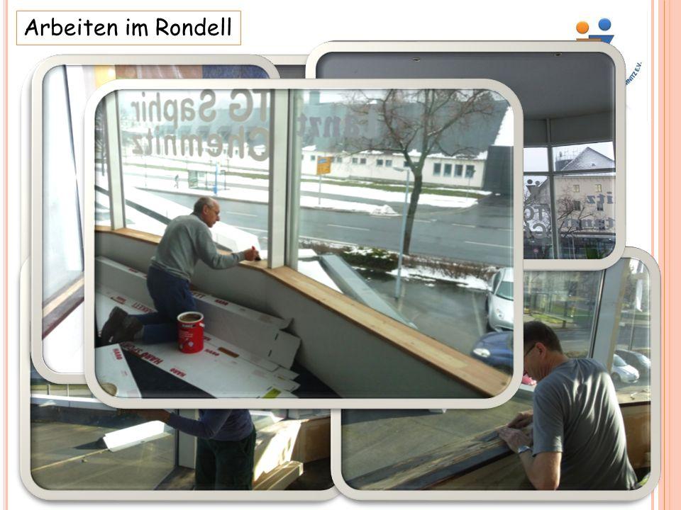 Arbeiten im Rondell