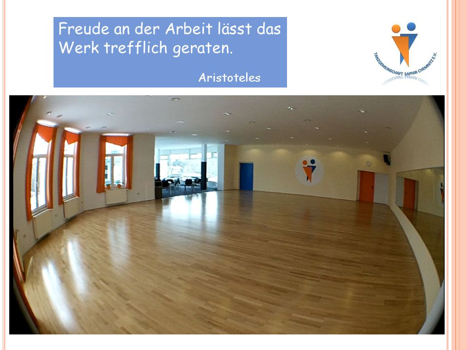 Freude an der Arbeit lässt das Werk trefflich geraten. Aristoteles