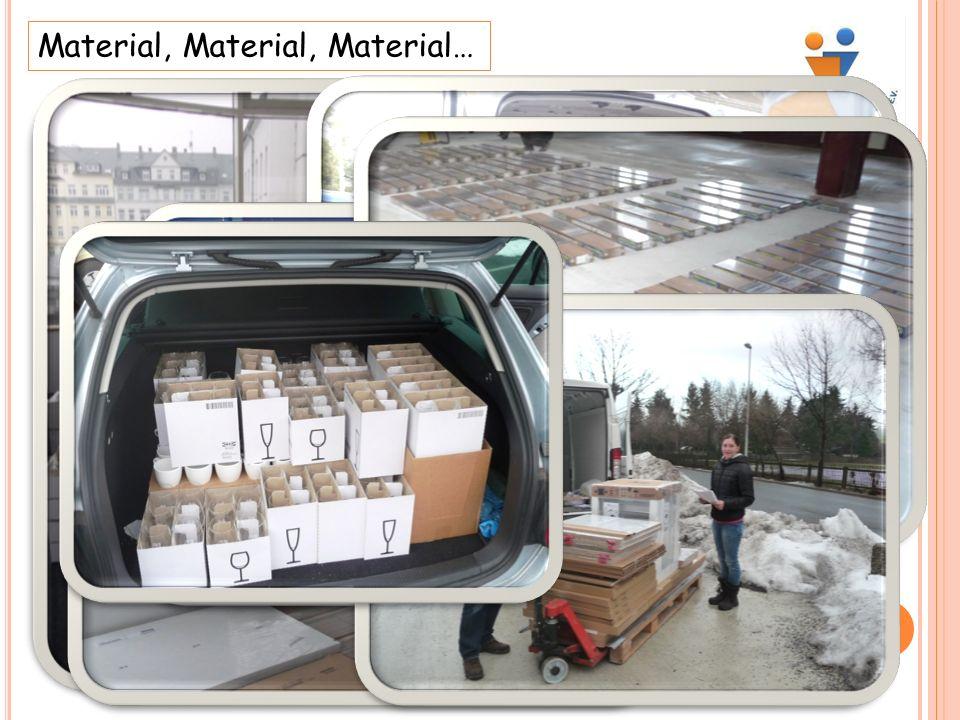 Material, Material, Material…