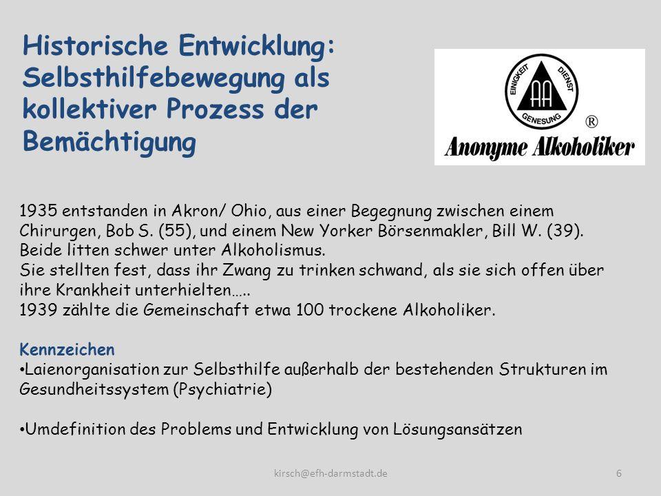Medizinkritik oder die Medizinalisierung von Gesundheit 1970er Jahre: Kritik an der Herrschaftsfunktion der Medizin.