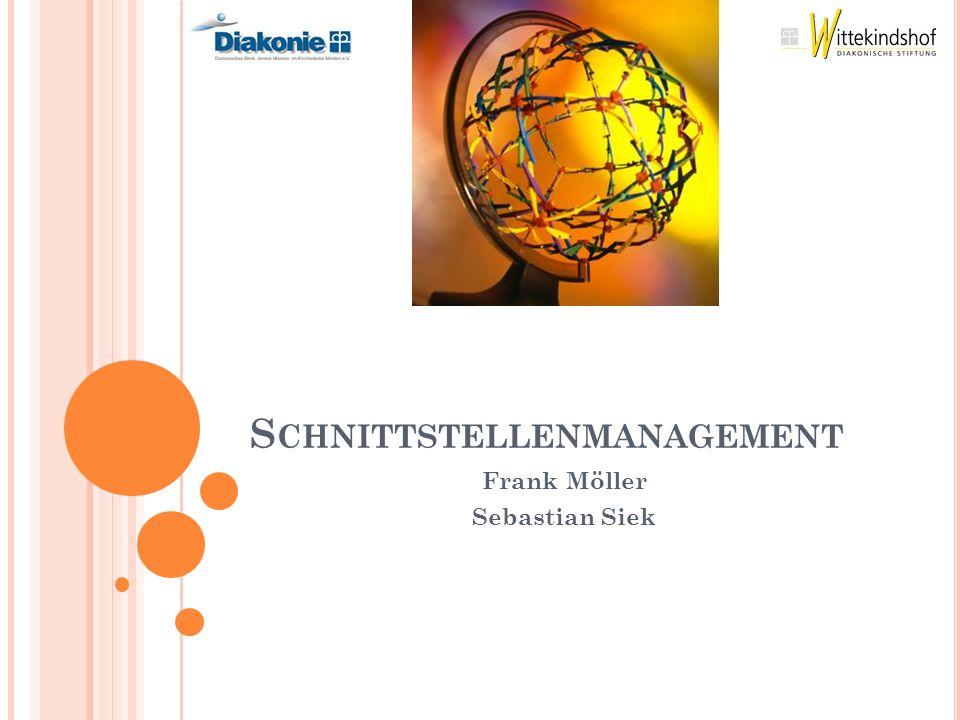 S CHNITTSTELLENMANAGEMENT Frank Möller Sebastian Siek
