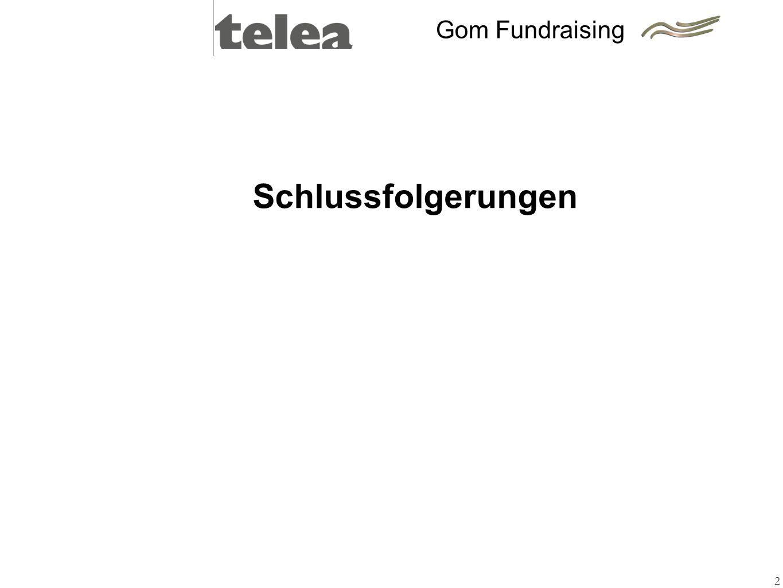 2 Schlussfolgerungen Gom Fundraising