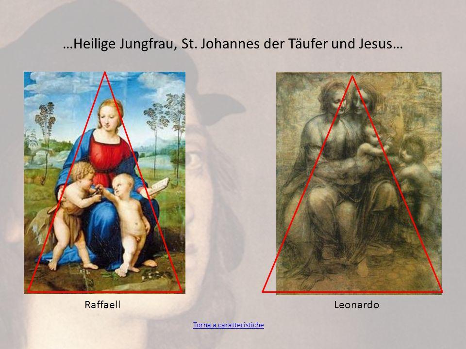 …Heilige Jungfrau, St. Johannes der Täufer und Jesus… Torna a caratteristiche RaffaellLeonardo