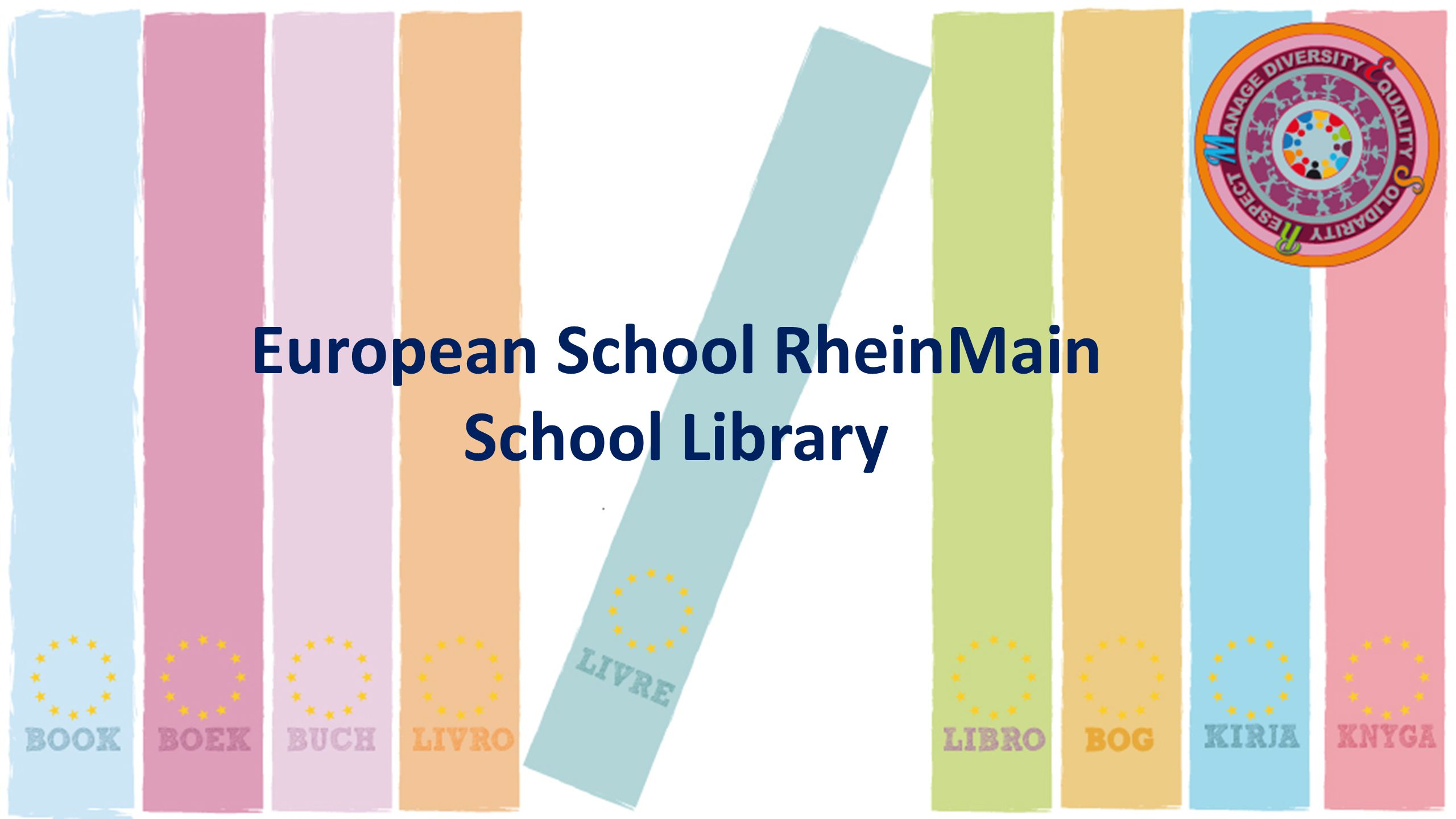 European School RheinMain School Library