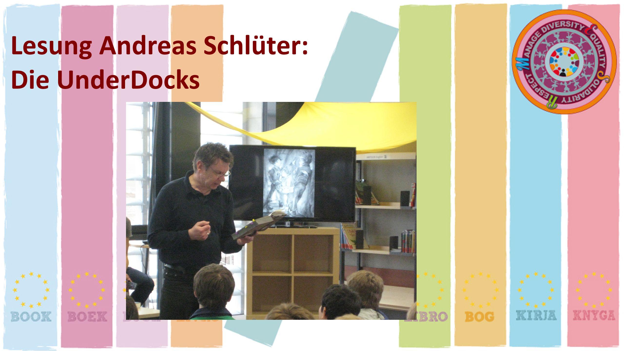 Lesung Andreas Schlüter: Die UnderDocks