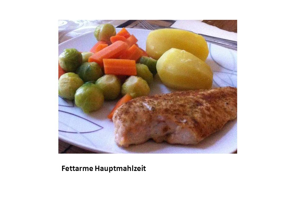 Fettarme Hauptmahlzeit