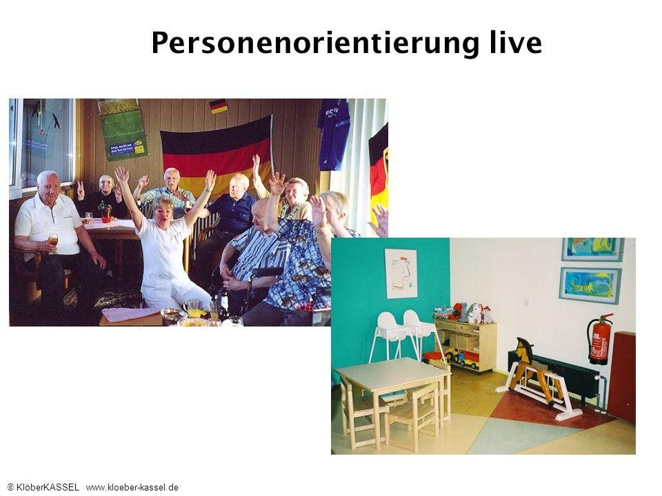 KlöberKASSEL www.kloeber-kassel.de Personenorientierung live