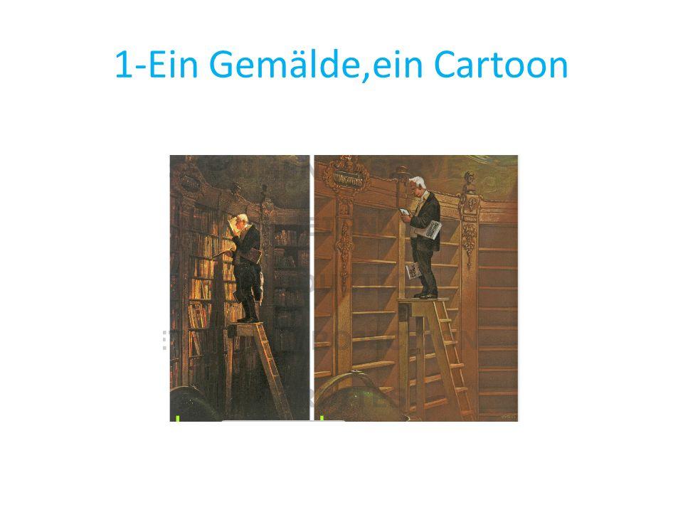 1-Ein Gemälde,ein Cartoon