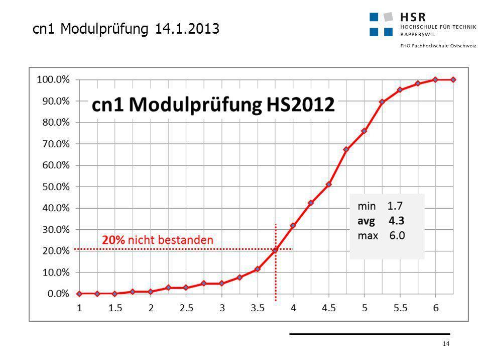 14 cn1 Modulprüfung 14.1.2013