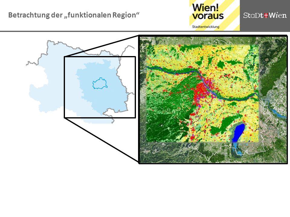 Betrachtung der funktionalen Region