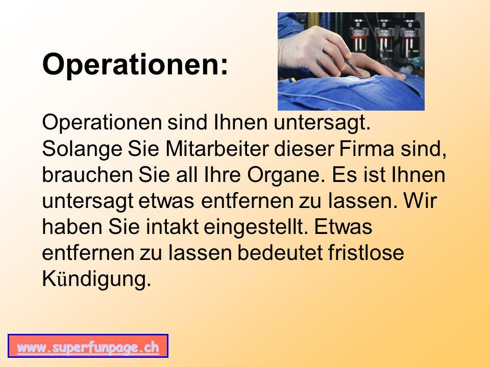 www.superfunpage.ch Operationen: Operationen sind Ihnen untersagt.