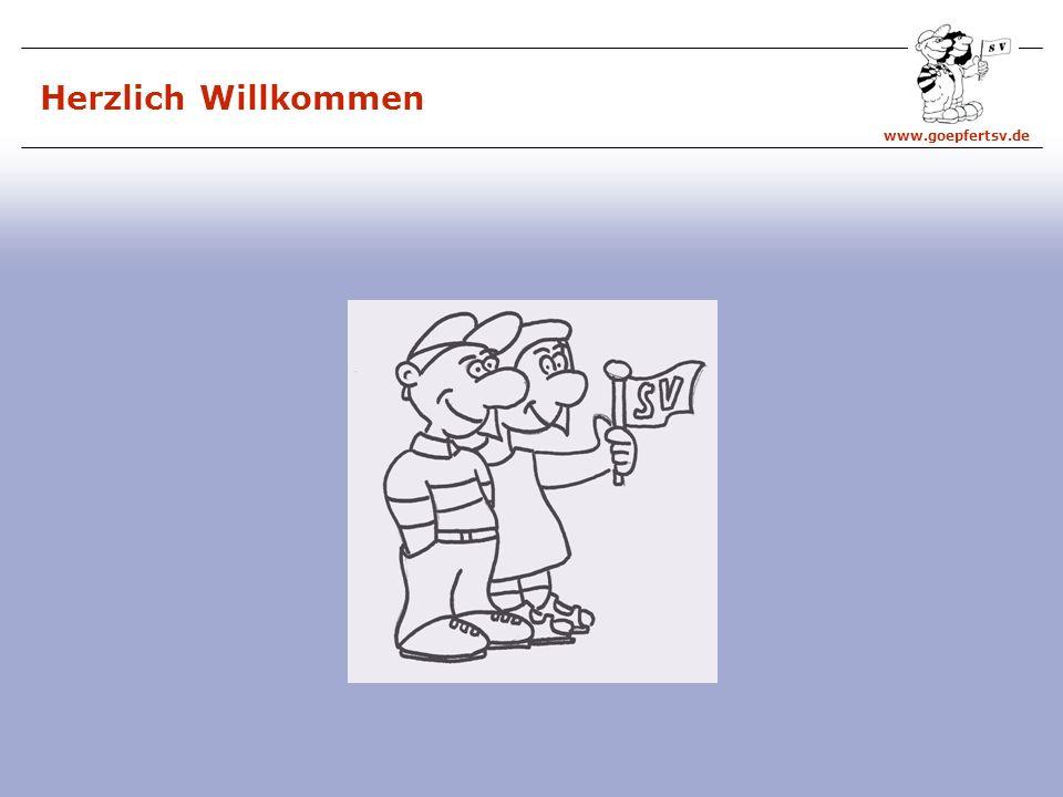 www.goepfertsv.de Herzlich Willkommen