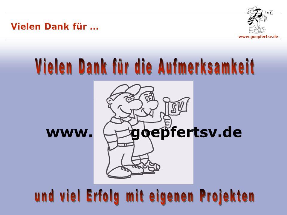 www.goepfertsv.de goepfertsv.dewww. Vielen Dank für …