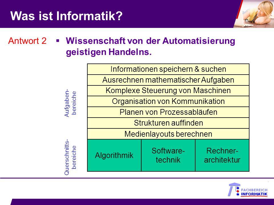 Bachelor Angewandte Informatik Software- entwicklung Informatik- systeme Formale Grundlagen (inkl.
