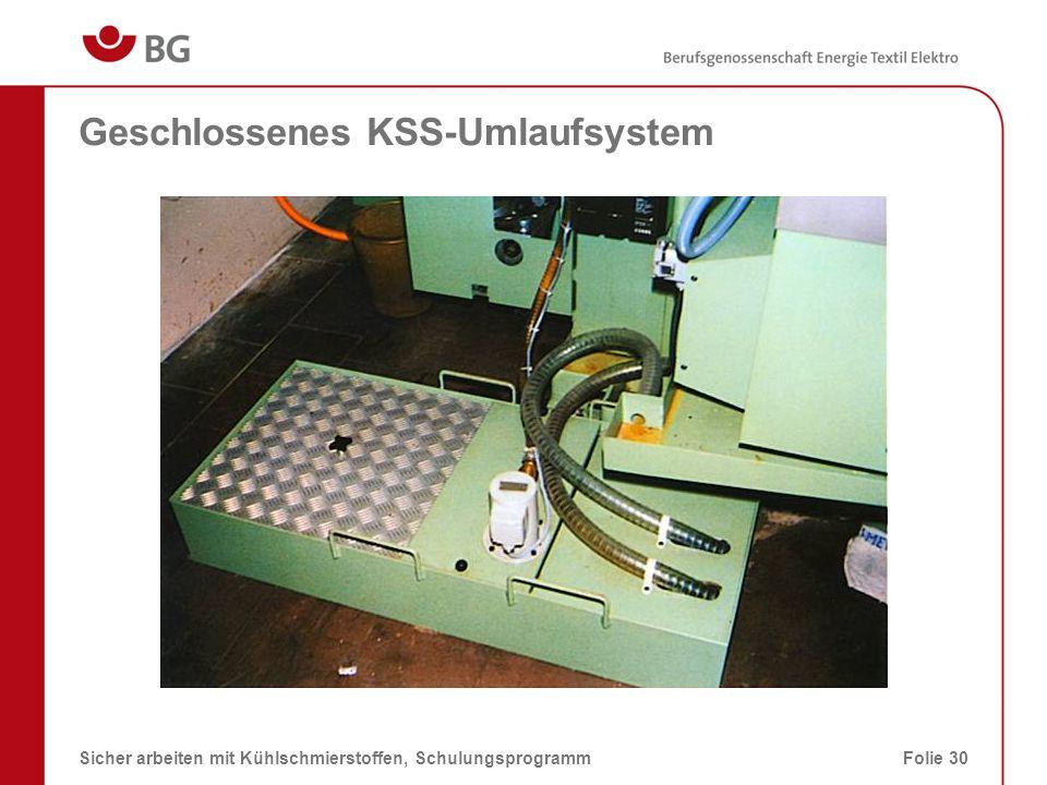 Nitratgehalt im Ansetzwasser 08.03.2014Sicher arbeiten mit Kühlschmierstoffen, SchulungsprogrammFolie 31 Grenzwertmax.