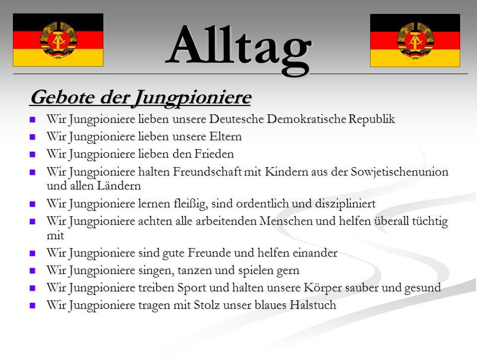Alltag Gruß der Pioniere : Für Frieden und Sozialismus - seit bereit.