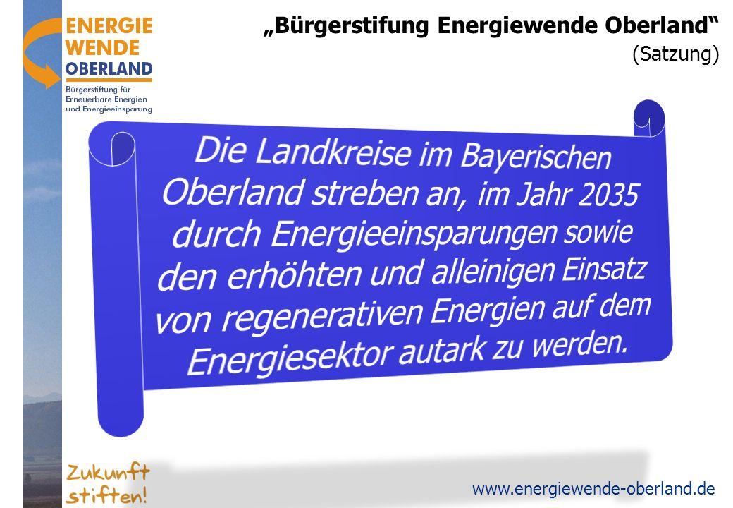 www.energiewende-oberland.de Oberland: 100% Wärme aus Holz & Geothermie.