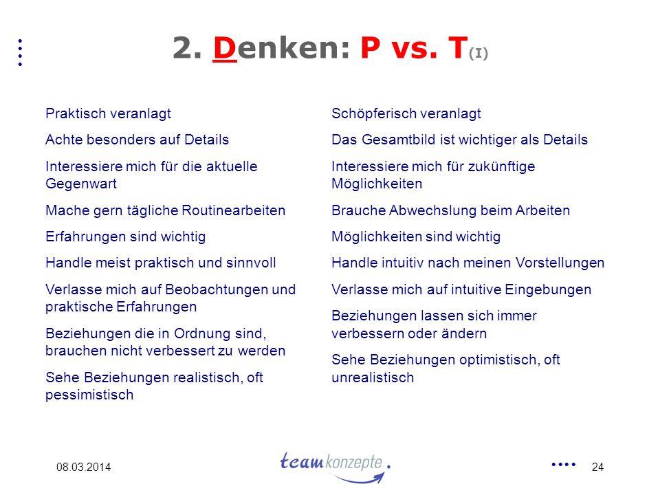 08.03.201424 2.Denken: P vs.