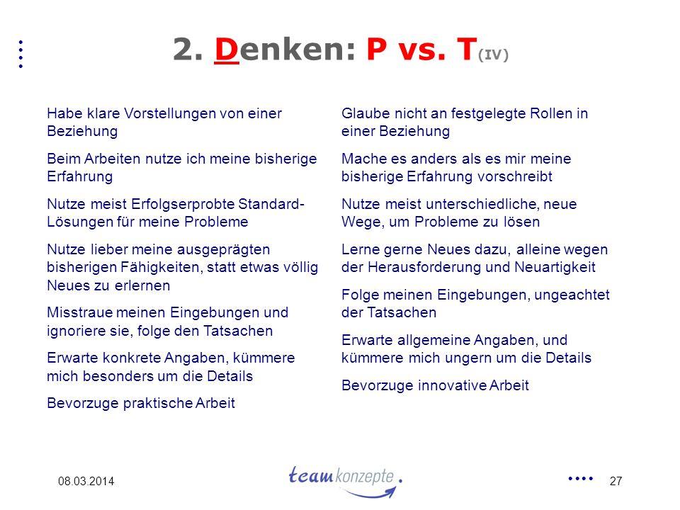 08.03.201427 2.Denken: P vs.