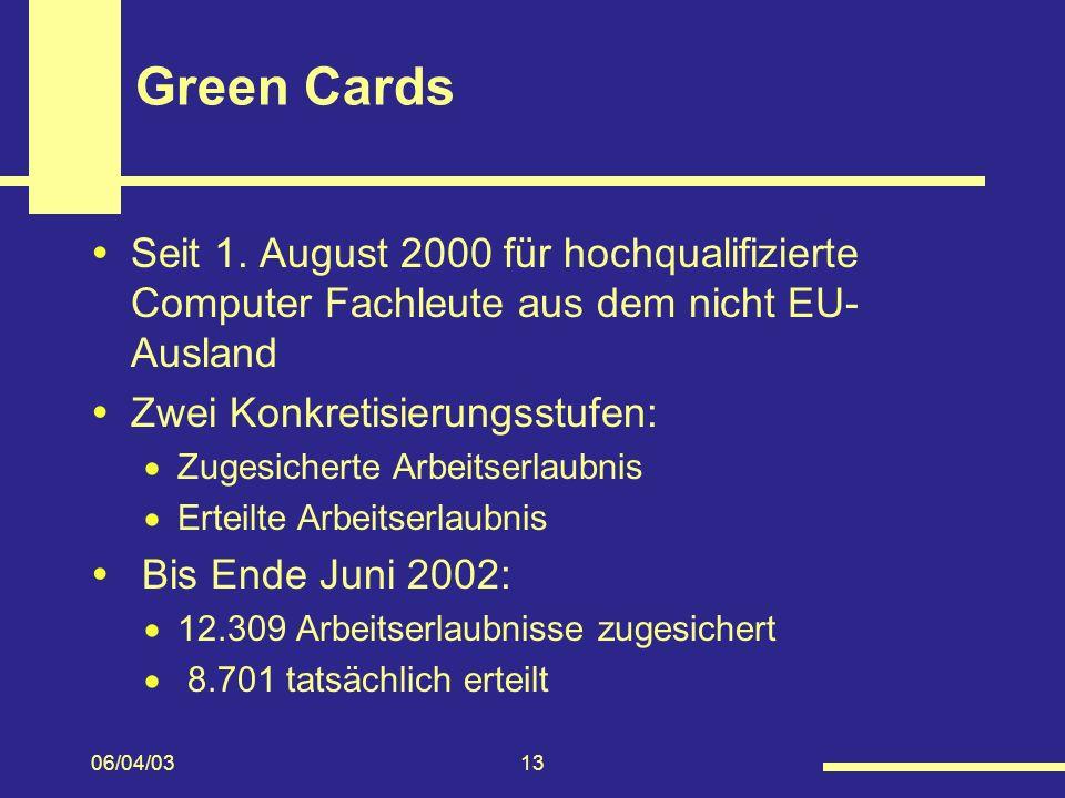 06/04/0313 Green Cards Seit 1.