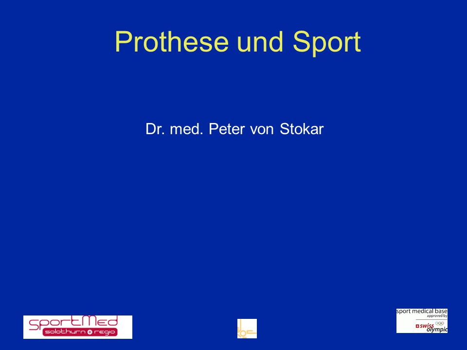 kein Sport bei nicht optimal sitzender Prothese Instabilität Fehlende Knochensubstanz oder Osteoporose zB.