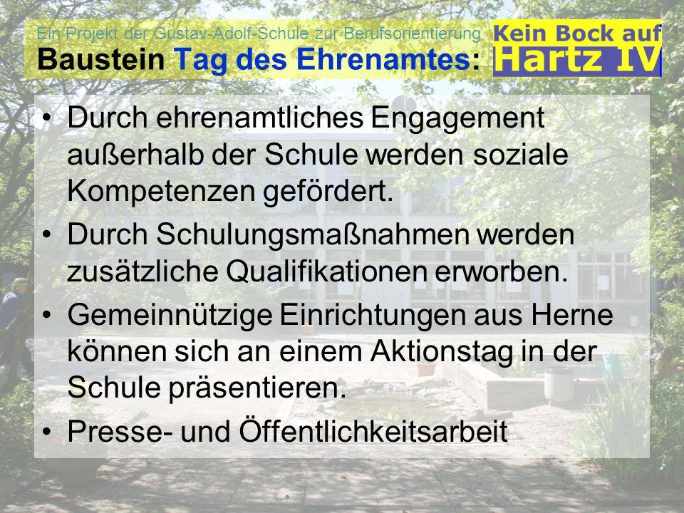Ein Projekt der Gustav-Adolf-Schule zur Berufsorientierung Kontaktdaten: Kontakt: Gustav-Adolf-Schule Edmund-Weber-Str.