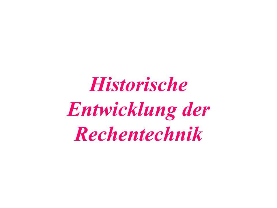 1886 Herrmann Hollerith Er baut die erste elektrische LOCHKARTEN- MASCHINE.