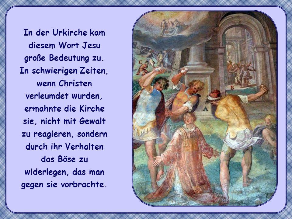 Wenn dies das Handeln der einzelnen Gläubigen kennzeichnet, dann gilt das genauso für die christliche Gemeinschaft mitten in der Welt: durch ihr Leben