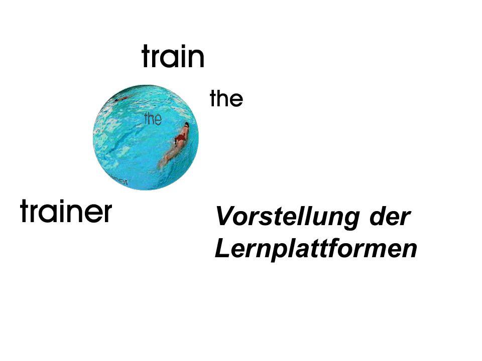 Vorstellung der Lernplattformen
