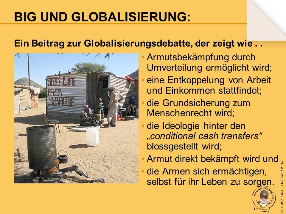 © BfdW / GMÖ / MÖWe / VEM Ein Beitrag zur Globalisierungsdebatte, der zeigt wie..