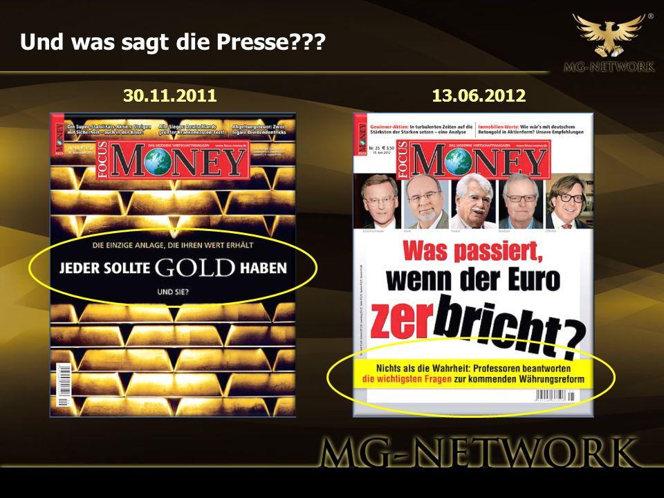 Und was sagt die Presse??? 30.11.201113.06.2012